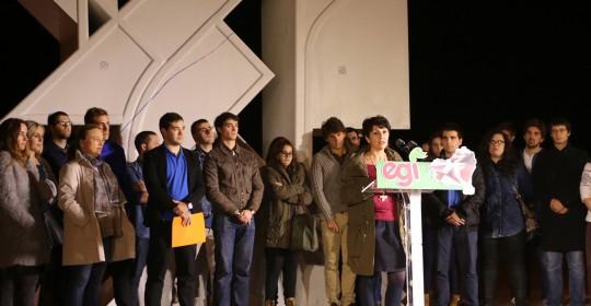 Euskadiko  bakearen  eta  elkarbizitzaren  eraikuntzan  gazteek  duten  papera  aldarrikatu  du  Euzko  Gaztedik